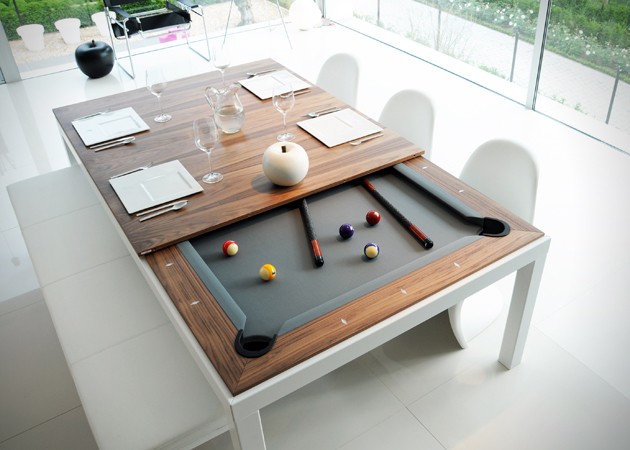 Pool and dining table