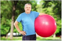 exercising for seniors  Symbius Medical