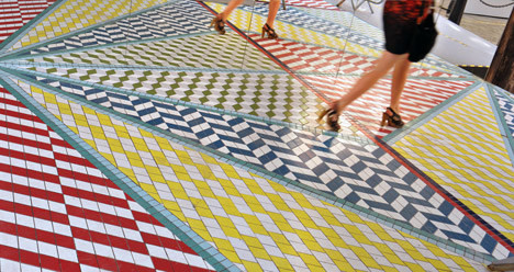 Tile Mile - Dezeen