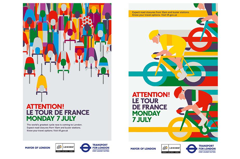 TfL posters