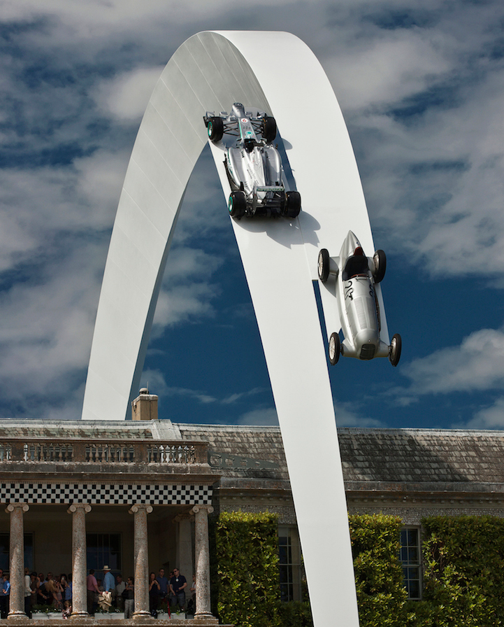 Mercedes-Benz sculpture