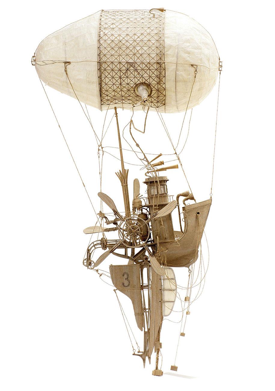 Cardboard flying machines