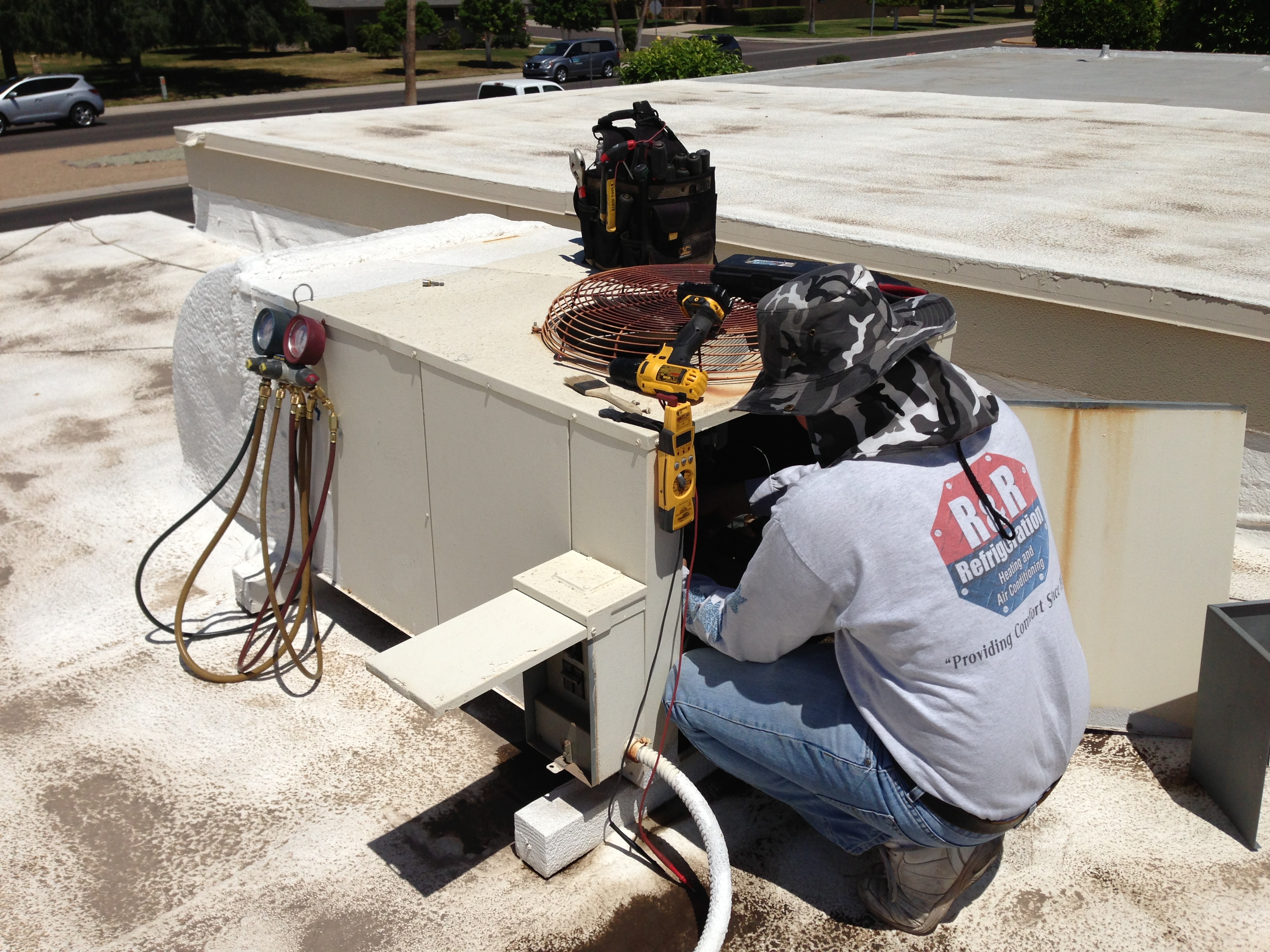 AC Repair Phoenix  R&R Refrigeration