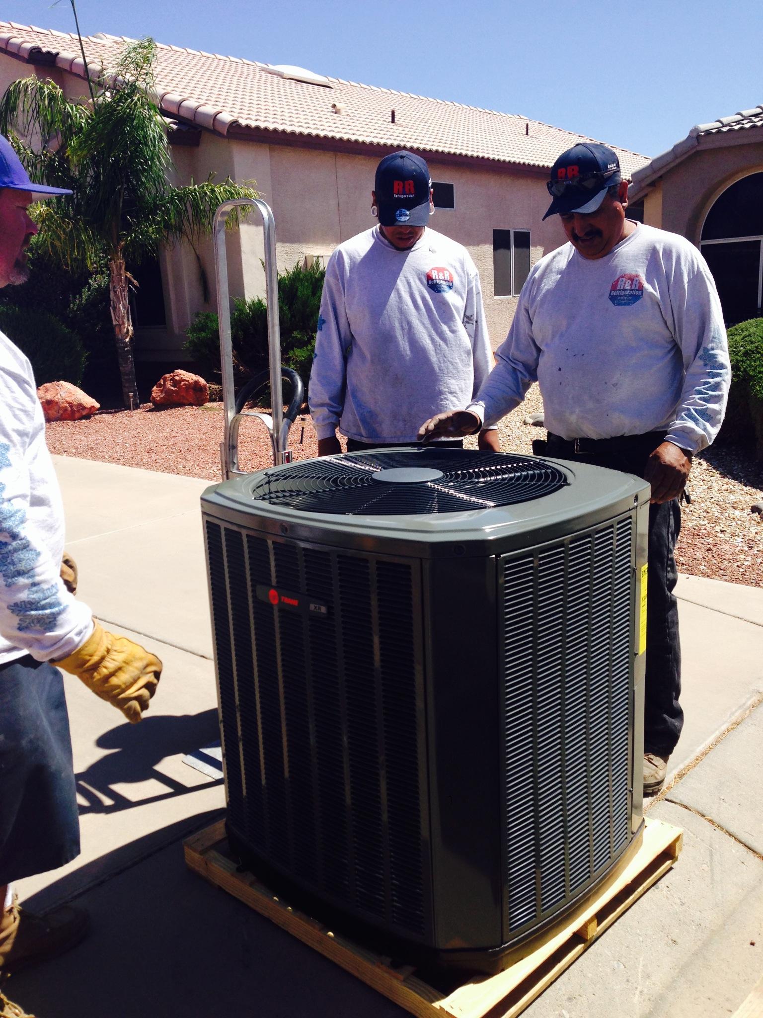 new ac  R&R Refrigeration
