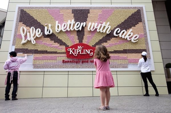 Mr Kipling billboard