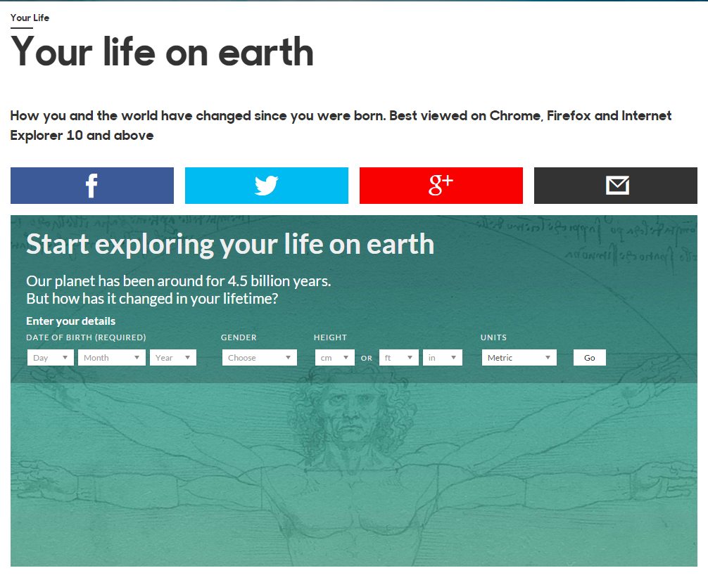 Your Life on Earth