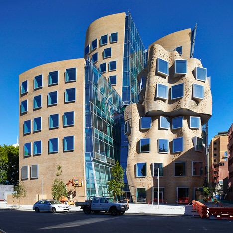 Frank Gehry building