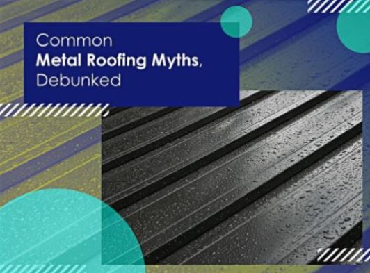 Affordable Roofing Systems Debunks The Common Myths And Misconceptions  Associated With Metal Roofing. Http://bit.ly/2yN0Aep