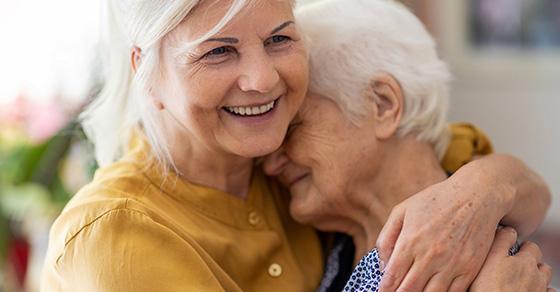 moving into a nursing home