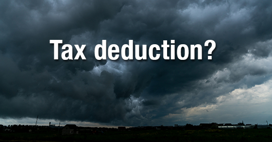 casualty loss tax deduction