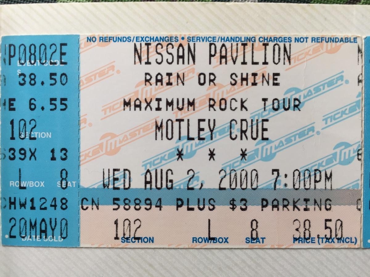 The Concert History of Nissan Pavilion Bristow, VA ...