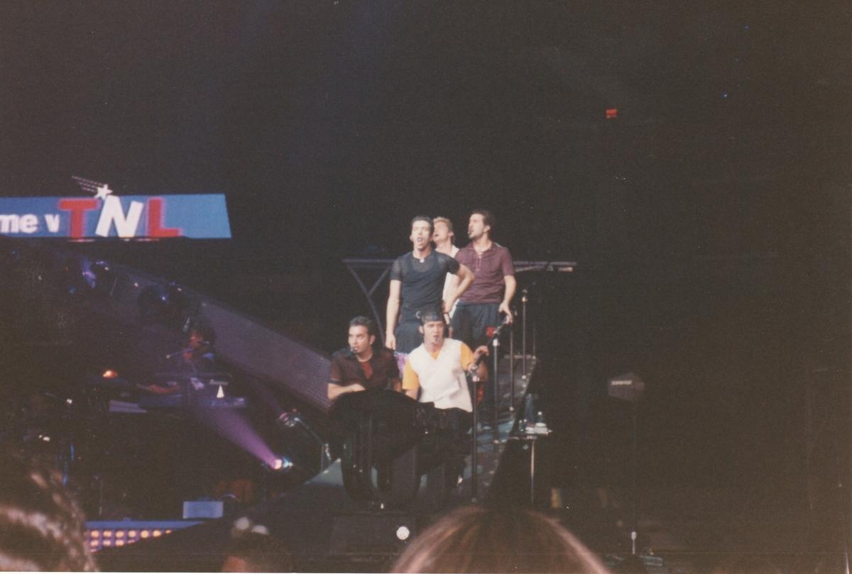 NYSNC Fleet Center concert March 17 1999.