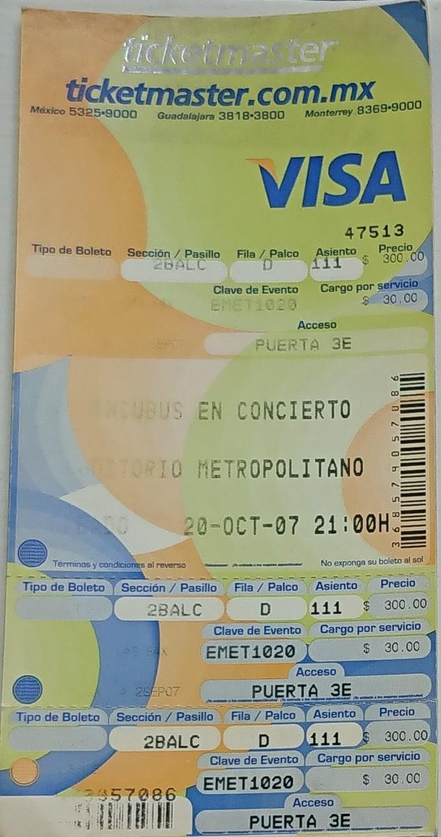 Incubus's Concert & Tour History | Concert Archives