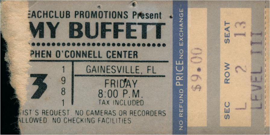Awesome Jimmy Buffetts Concert Tour History Concert Archives Best Image Libraries Weasiibadanjobscom