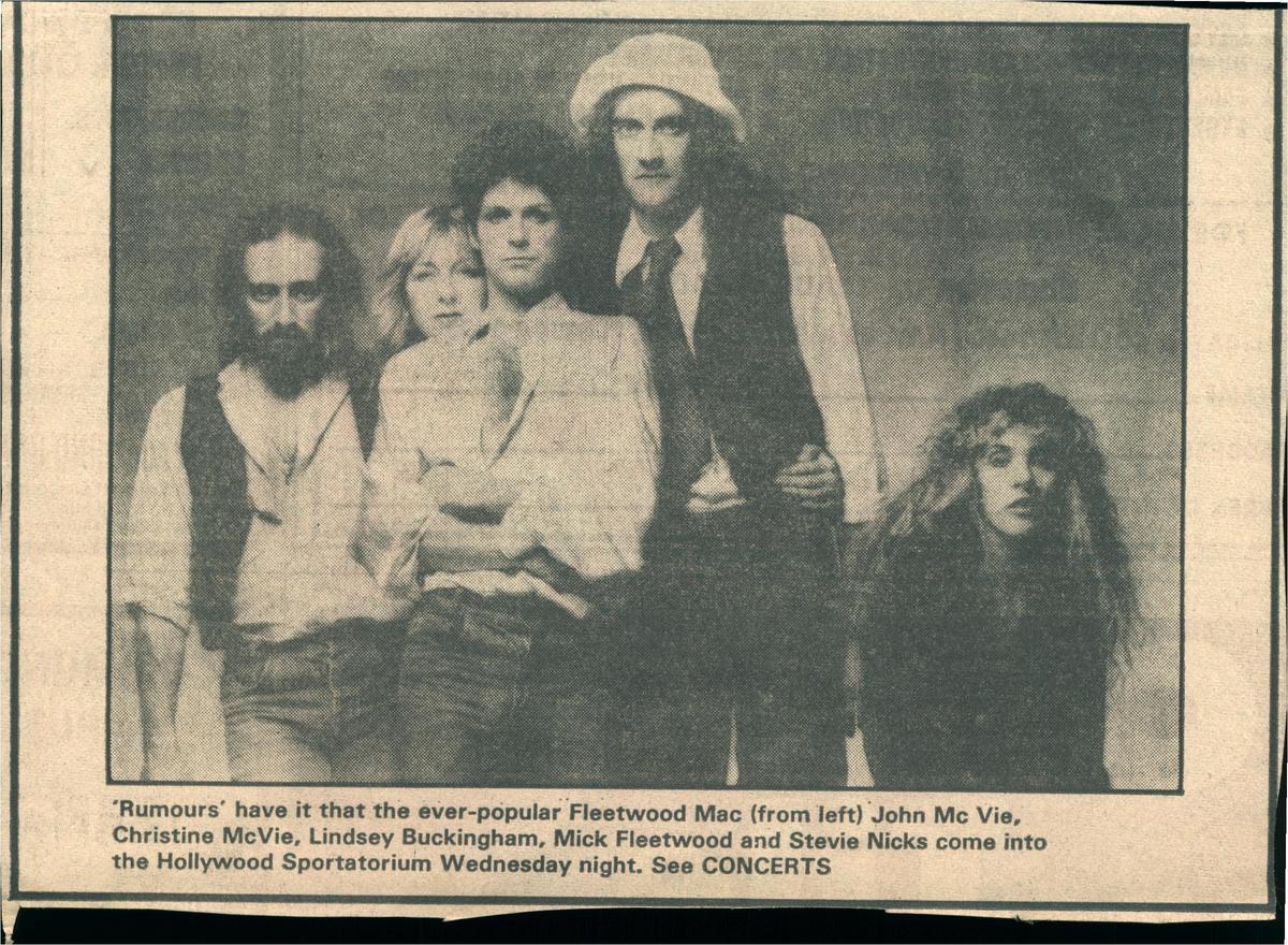 Fleetwood Mac's Concert & Tour History | Concert Archives