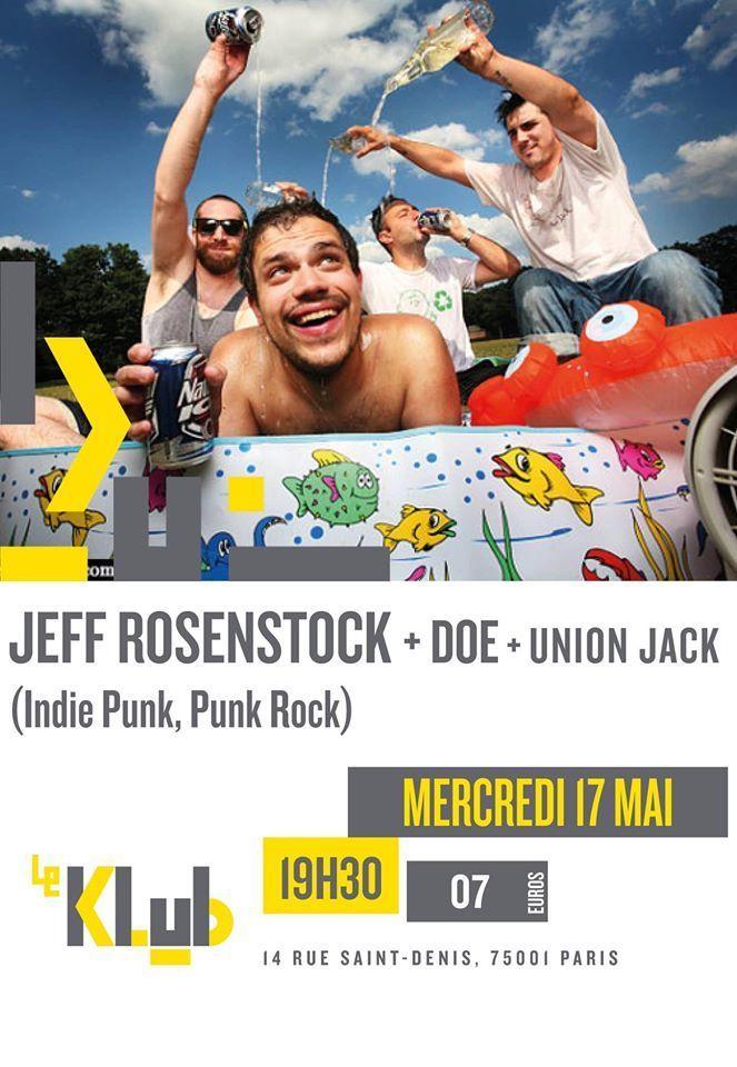 Jeff Rosenstock's Concert & Tour History | Concert Archives