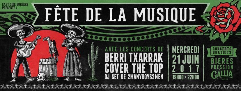 Cover the top 39 s concert history concert archives - Fete de la musique 2017 date ...