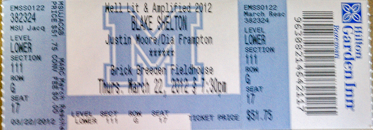 Blake shelton winstar casino tickets green valley ranch resort & spa casino