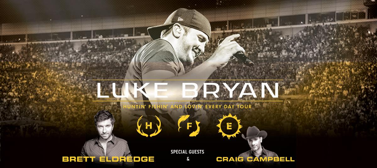 Luke Bryan Setlist For Huntin Fishin Tour