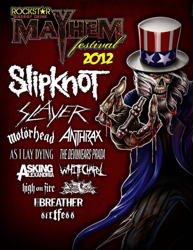Rockstar Energy Drink Mayhem Festival  Lineup