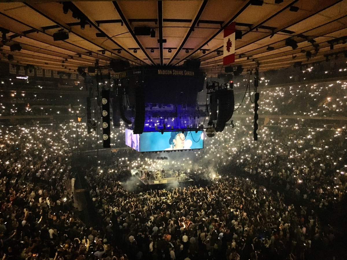 The concert history of manhattan ny concert archives The killers madison square garden