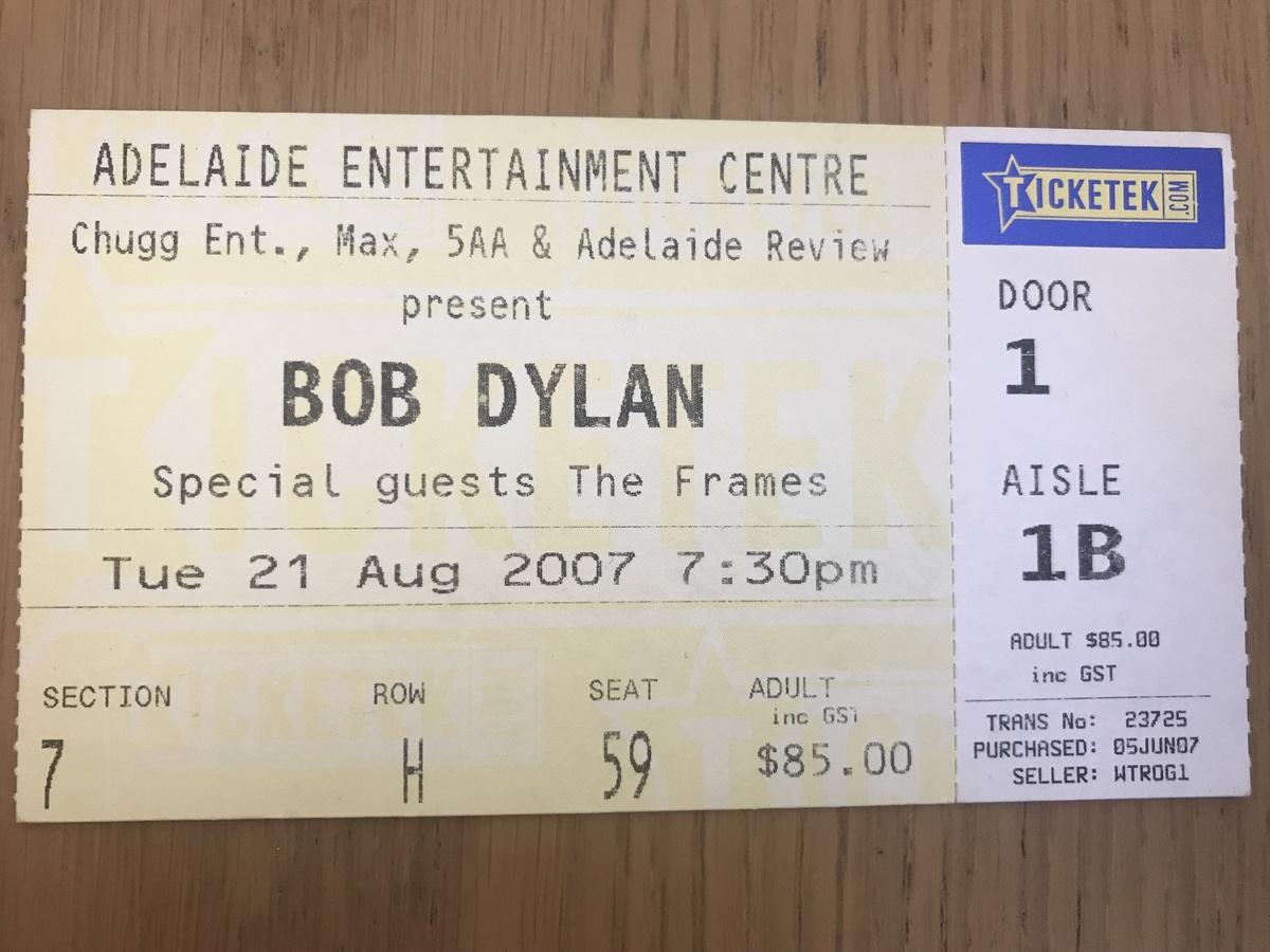 Bob Dylan Concert Photos | Concert Archives
