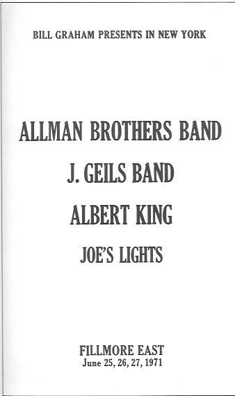 The J. Geils Band\'s Concert History | Concert Archives