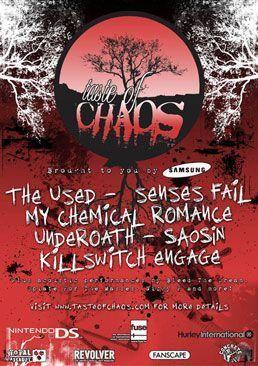 My Chemical Romance Tour >> My Chemical Romance S Concert Tour History Concert Archives