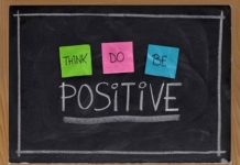 Think, do, be: positive