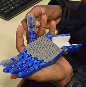 A 3D-printed prosthetic will give new opportunities to a child who is missing a hand