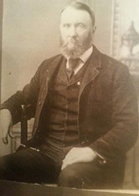 The only photo of William H. White, Civil War soldier from Ionia, Michigan, that is known to exist