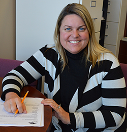 Anne Kostus, director of academic support services at Cedar Springs, is excited for the first cohort of middle college students to reach their final year