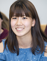Yuka Nagai was impressed by the technology available in U.S. schools