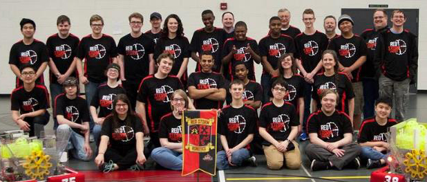East Kentwood High School's Red Storm FIRST Robotics team