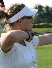 Katarina Scrivenger has competed in national archery competitions since she was in middle school