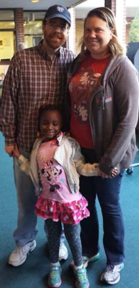 David and Kelly Huhn voted yes so their daughter, Abby, and other GRPS students could have better facilities