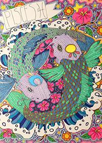 """Katherine Minnaar's piece """"Pisces."""""""