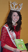 Mary Stoll read to students for March is Reading Month