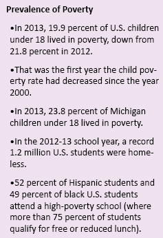 Source: First Focus, Michigan League for Public Policy,  U.S. Census Bureau