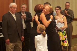 Laurie VanderPloeg honored with the Beekman Award