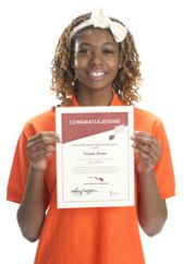 Ottawa Hills student Tonyea Brown was awarded the scholarship in 2013
