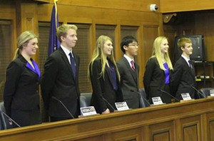 "The EGR ""We the People"" team competes"