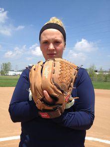 Amanda Emelander won nearly 80 games as a softball pitcher at Lee High