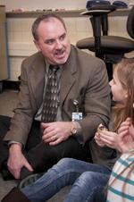 Sparta Area Schools Superintendent Gordie Nickels