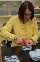 Kelloggsville teacher Susan Faulk brings a student group monthly to the Women at Risk International Volunteer Center