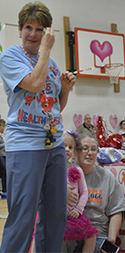 Every year Jump Rope for Heart ends with a familiar site: tears from organizer JoAnne Desy