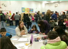 Godfrey Elementary Family Math Night