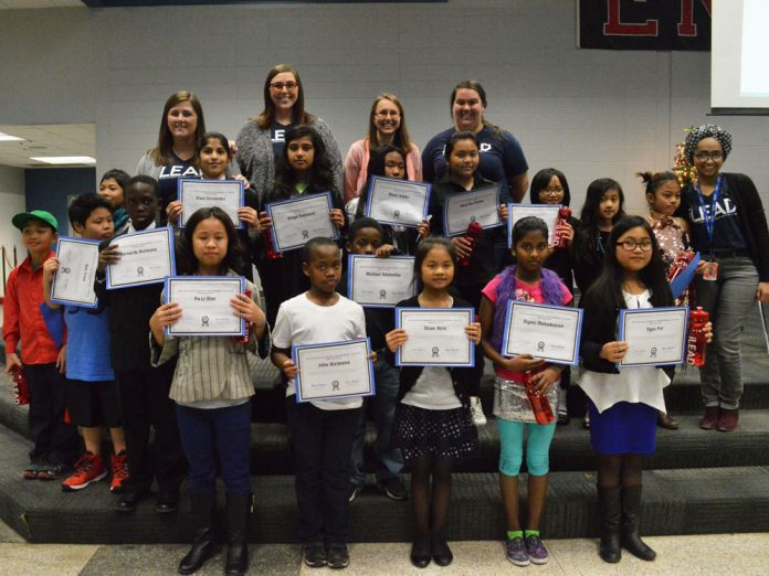 Seventeen Kentwood Public Schools elementary students made up the first iLEAD cohort
