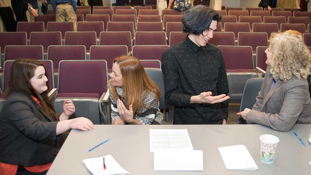 Students seek ways to attract more people into teaching