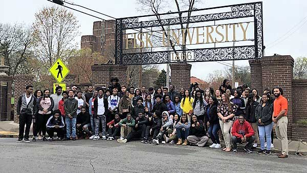 Students learn history, see possibilities on tour of